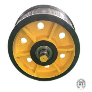 Chinese manufacturer elevator cast iron wheels and diversion sheave ,lifts elevator parts