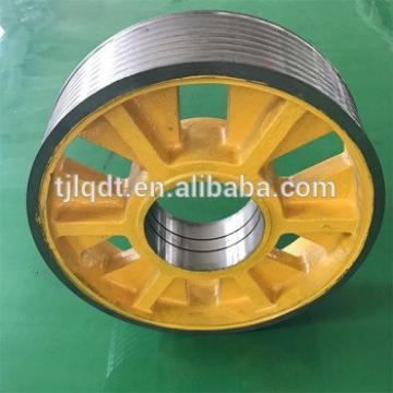 Fujitec cast iron elevator equipment,elevator wheel lift sheave
