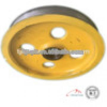 high quality elevator wheel cast iron elevator traction wheel with elevator parts