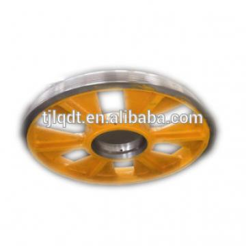 Smooth operation of cast iron elevator rope wheel513*(5-7)*10