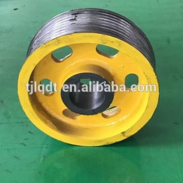 Toshiba traction wheel for elevator ,friction wheel with elevator parts