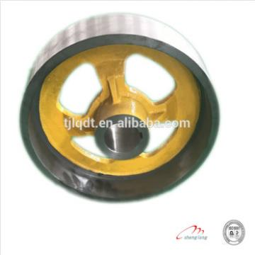 The construction brake wheel elevator lift wheel,elevator parts