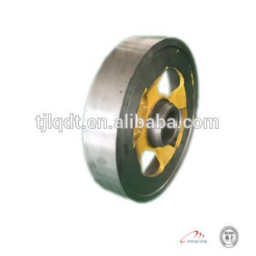 Power equipment cast iron wheel lift,elevator wheel lift sheave