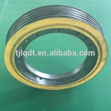 lifts elevator cast iron elevator wheel Made in China elevator parts