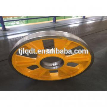 cast iron wheels with high quality elevator traction sheave of elevator parts
