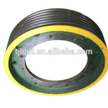 Cast iron elevator wheel, power equipment,elevator spare parts650*6*13