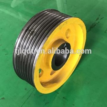 Hitachi elevator parts,the elevator traction wheel of nodular cast iron400*5*10hitachi elevator parts
