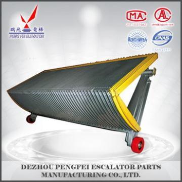 China supplier schindler step yellow side black step/goog quality step for schindler escalator
