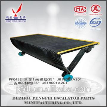 Mitsubishi escalator 800mm step with 35 degrees for price concessions