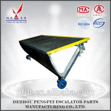 Escalatotr parts elevator step with yellow painting for 120 teeth