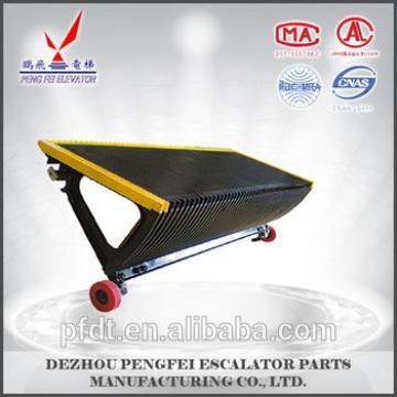 New design aluminum step escalator step with high quality