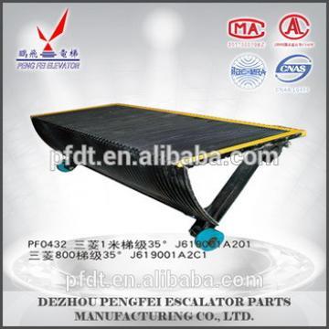 Mitsubishi escalator parts 800mm/1000mm standard Escalator Step
