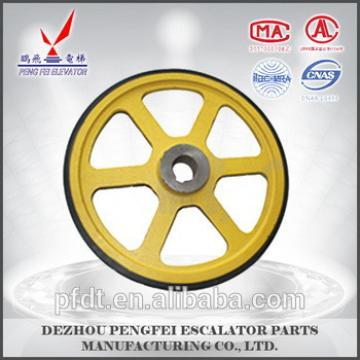 famous XIZI friction wheel for elevator&lift&escalator parts with good Credit guarantee