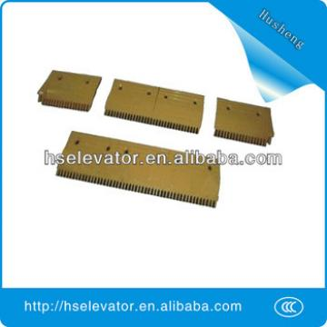 escalator comb plate middle, escalator comb plate escalator installation