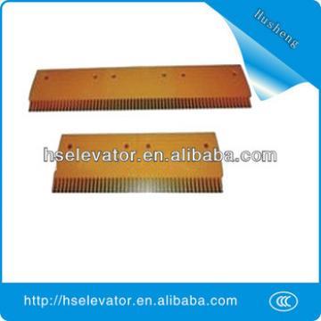 escalator comb floor plate, escalator yellow strip, escalator comb plate