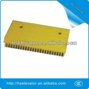 escalator yellow strip, elevator yellow border, escalator comb plate