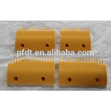 LG Escalator comb plate, Escalator plastic comb plate, escalator spare parts for LGASA00B655,ASA00B656,ASA00B654-R,ASA00B654-L