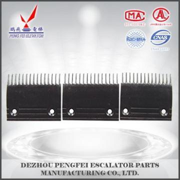13/14/15 teeth black comb plate for Toshiba escalator Escalator & Escalator parts