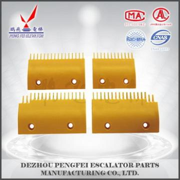 good quality comb plate for Sigma LG escalator comb plate escalator parts
