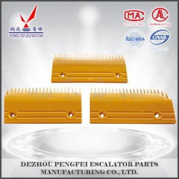 Foster plastic comb plate for Fujitec escalator 0219CAE001 type 22 teeth for escalator parts