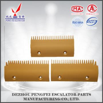 escalator comb segment plate for LG passenger escalator