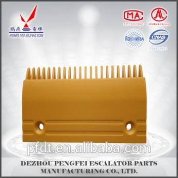 Fujitec 21teeth escalator plastic comb plate for quality excellent