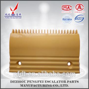 25-teeth palstic elevator comb plate for escalator parts