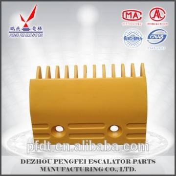 low price escalaotr parts for yellow comb plate for Foster