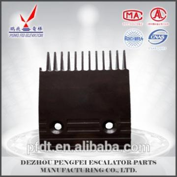 hot sale small size black comb plate for Toshiba elevator parts