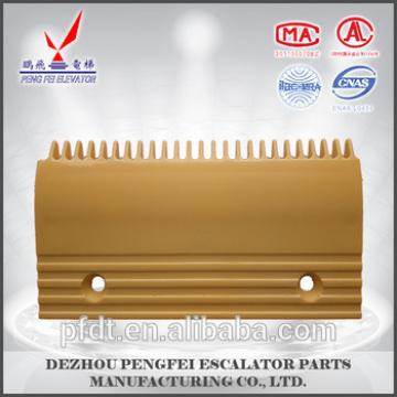25teeth comb plate with plastic material use for elevator parts