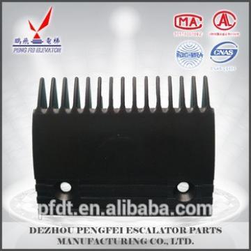 13,14,15-teeth escalator comb plate