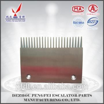 sidewalk aluminum comb plate size XAA453J for elevator parts
