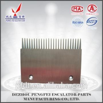 Durable Aluminum alloy elevator comb plate for elecator