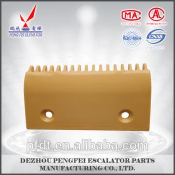 best price yellow for Hitachi 17-teeth comb plate for elevator parts