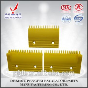 A set of plastic elevator comb plate for elecator