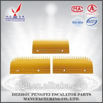 Fujitec 20teeth escalator comb plate with reasonable price
