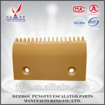 escalator parts for 17-teeth comb plate for Hitachi