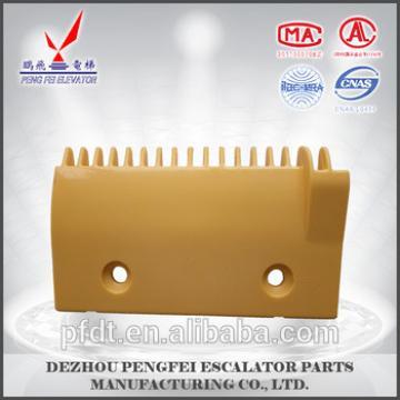 17 teeth escalator plastic comb plate for Hitachi escalator