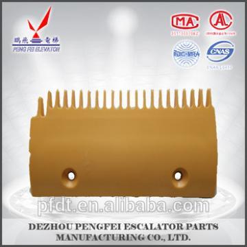 LG escalator 22teeth plastic comb plate with quality assurance