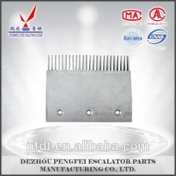 A piece of Thyseen aluminium alloy comb plate escalator for THYSSEN9011