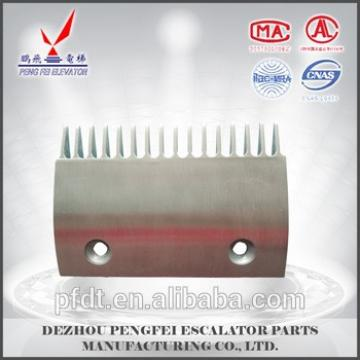 16-teeth Aluminum alloy material comb plate for LG elevator parts