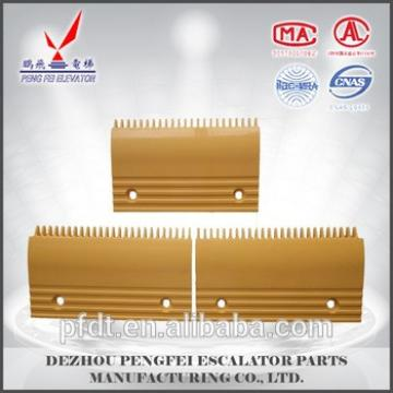 elevator plastic comb plate with oti s for the high quality product