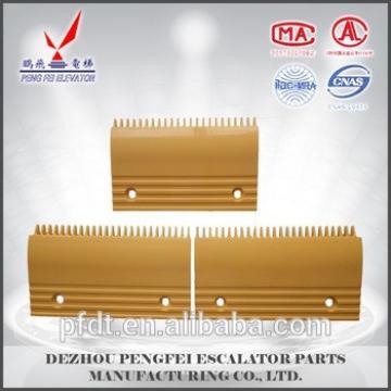 escalator comb plate LDTJ-B-1/2/3 for elevator spare parts
