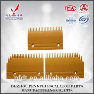 2016 best-selling Fujitec 0219CAD001 yellow plastic comb plate for elevator
