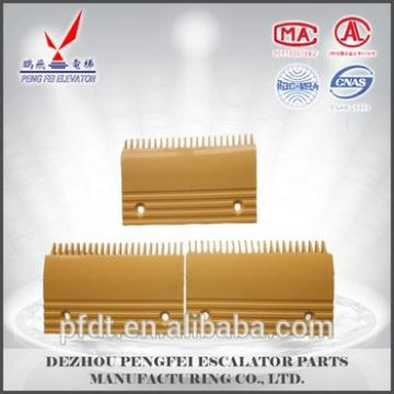 PENGFEI Direct manufacturers elevator spare parts for plastic comb plate with sturdy and durable