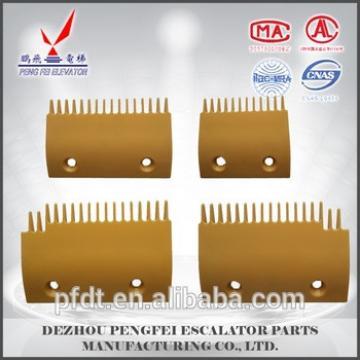 Hitachi 17 teeth escalator plastic comb plate with direct manufacturers