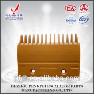 factory Supplier escalator comb plate for below cost