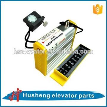 Elevator guide rail alignment , Laser guide rail alignment