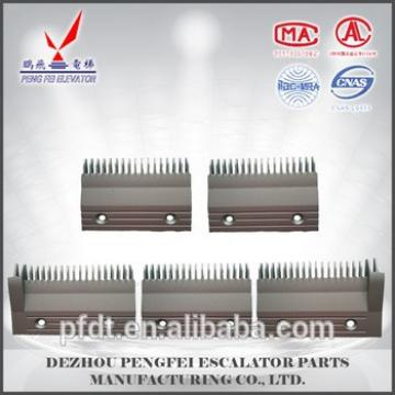 A set of Hitachi aluminum comb plate with virtually indestructible