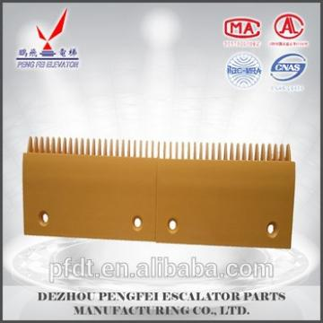 Schindler 22teeth plastic comb plate with quality excellent